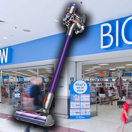 Big W Has Slashed $250 Off Dyson V7 Animal Vacuums
