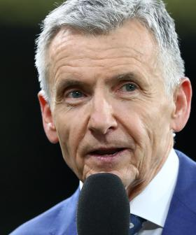 End Of An Era As Bruce Steps Away From Footy Commentating