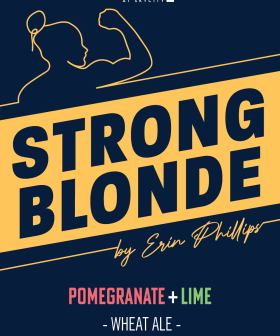 Erin Phillips Celebrates International Women's Day With Her Own 'Strong Blonde' Beer