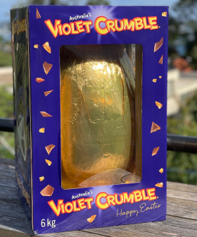 A Violet Crumble Easter Egg That Weights 6 KILOS Now Exists