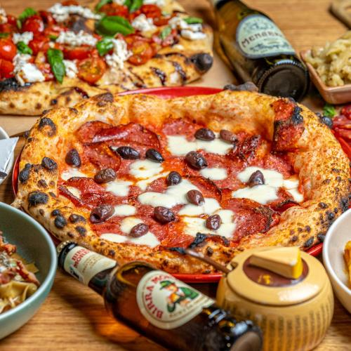 An Italian Restaurant in the CBD Is Offering Unlimited Pizza for $25 Every Thursday