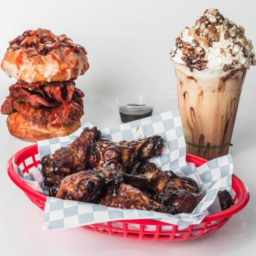 A Burger Joint In Grange Are Serving Donut Burgers And Golden Gaytime Shakes