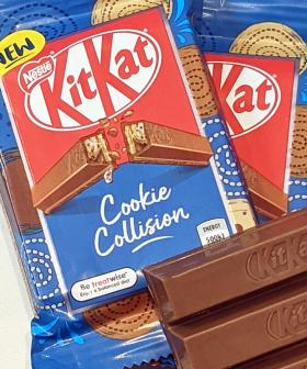 KitKat Have Just Dropped A New Cookie-Filled Chocky Bar!