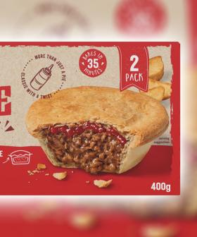 Coles Are Now Making Meat Pies With The Sauce Baked Into It!