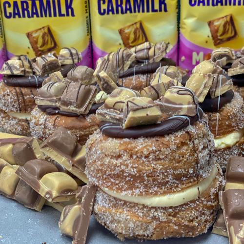 Run, Don't Walk! Jenny's Bakery Is Selling Marble Caramilk Cronuts