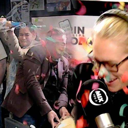 Newsreader Maz Almost Blinded Erin & Burst Someone's Eardrum Yesterday