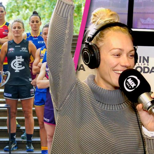"""""""This Is A Massive Day For Women's Sport In Australia"""": Erin Phillip's Thoughts On The AFLW Expansion"""