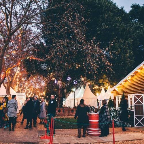 Adelaide's Getting A Christmassy Winter Festival With Markets, An Alpine Lodge And Ice Skating