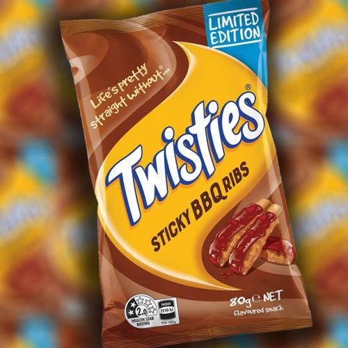 Twisties Have Just Gone And Created A Sticky BBQ Ribs Flavour And We Don't Know What's Real Anymore