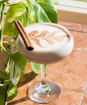 Things Are Getting Spicy With This New Boozy Chai Latte Martini