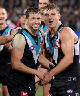 Travis Boak Reveals That Port Adelaide Players Write Each Other Heartfelt Letters
