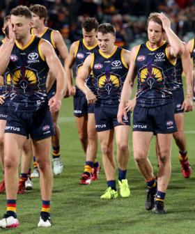 Adelaide Crows Fined $50,000 For Breaching Covid Regulations