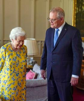 Scomo's Convo With The Queen Sounded Like He Was Spilling Some Serious Tea