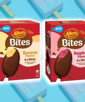 Allen's Have Just Dropped New Special Edition Banana & Raspberry Lolly Flavoured Ice Creams!