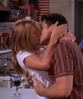 Monty's Young Son Is Now An Open Mouth Kisser & It's All Thanks To 'Friends'