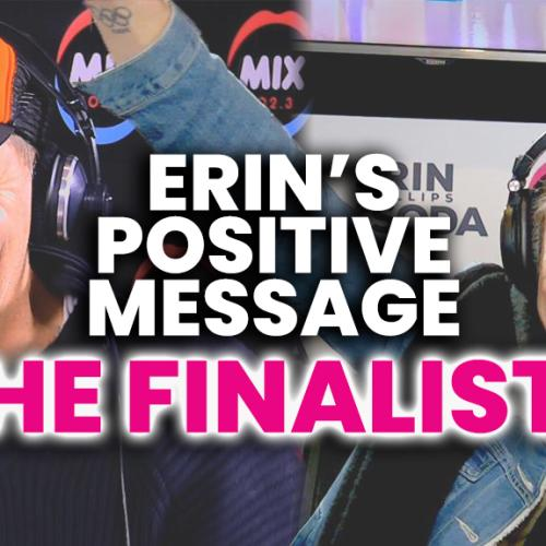 Hear The FINALISTS Of Erin's Positive Vaccine Message!