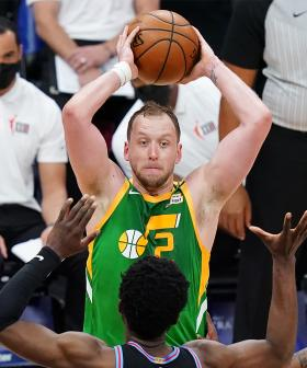 """Olympic Basketballer Joe Ingles Reveals The """"Souvenir"""" He Brought Home From The Tokyo Games"""