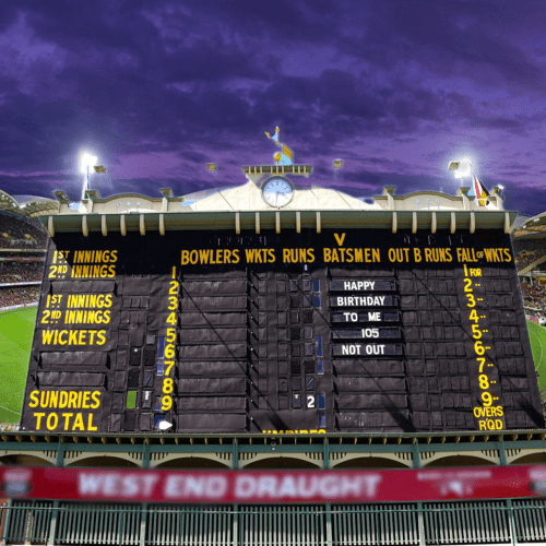 The Century-Old Adelaide Oval Scoreboard Could Be Moved For 7,000 More Seats...