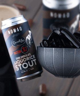 Darrell Lea Is Releasing A New LIQUORICE BEER Just In Time For Father's Day!