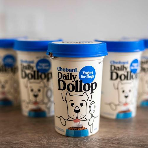 Chobani Releases First-Ever Dog Yogurt Just For Your Best Mate