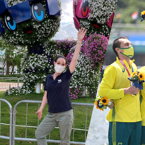 10 News' Natasha Exelby Dishes On Our Aussie Athletes Live From The Tokyo Games