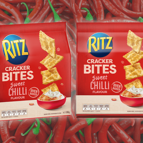 Ritz Are Dropping Sweet Chilli Cracker Bites, Cheers For Another Mouth-Melting Snakkie Option!