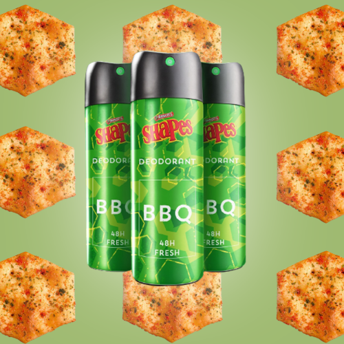 Did...Arnott's Just Announce BBQ Shapes Scented Deodorant?