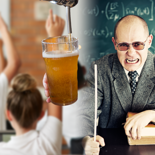 You WOULDN'T Believe What This Teacher Was Doing Outside Of School Hours...