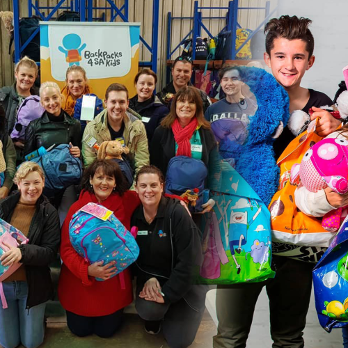 This Is How Backpacks 4 SA Kids Are PROVING That South Aussies Are The Kindest!