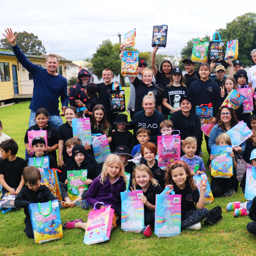 Over 100 Show Bags Delivered To Disadvantaged Kids, And We're Not Done Yet!