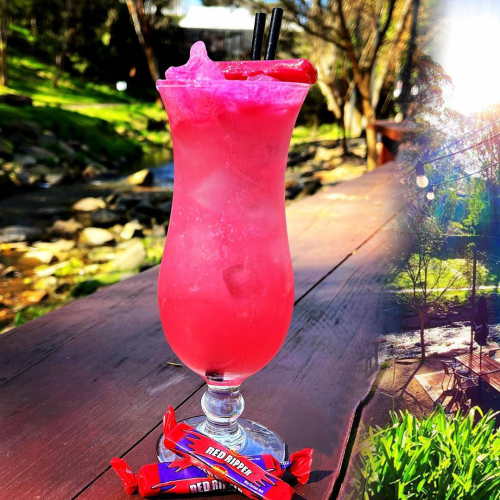 A Red Ripper Inspired Cocktail Now Available In The Adelaide Hills!
