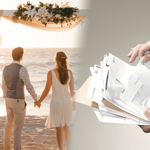 A Couple Made Their Guests Pay For DITCHING Their Wedding... Would you?