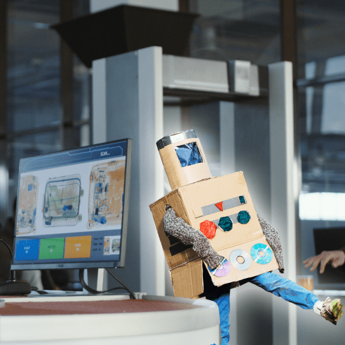 A 4-Year-Old Convinced Airport Security He Was A Robot! 🤖😂