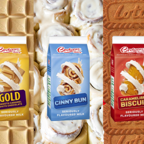 This Brand Is Selling Rip Off Caramilk, Biscoff & Cinnabon Flavoured Milk AND I WANT THEM ALL!!