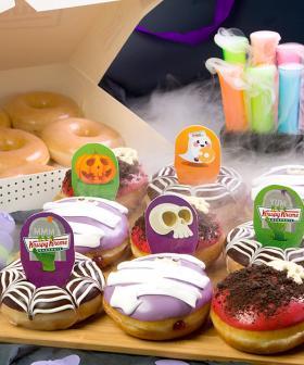 HalloSCREAM With Krispy Kreme's Spooky Doughnut & Shake Range